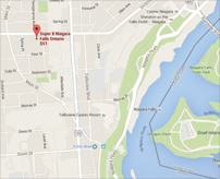 Directions to Ramada Hotel Near the Falls