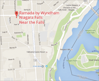 Directions to Ramada by Wyndham Niagara Falls Near the Falls