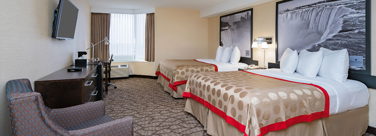 Rooms - Ramada by Wyndham Niagara Falls Near the Falls